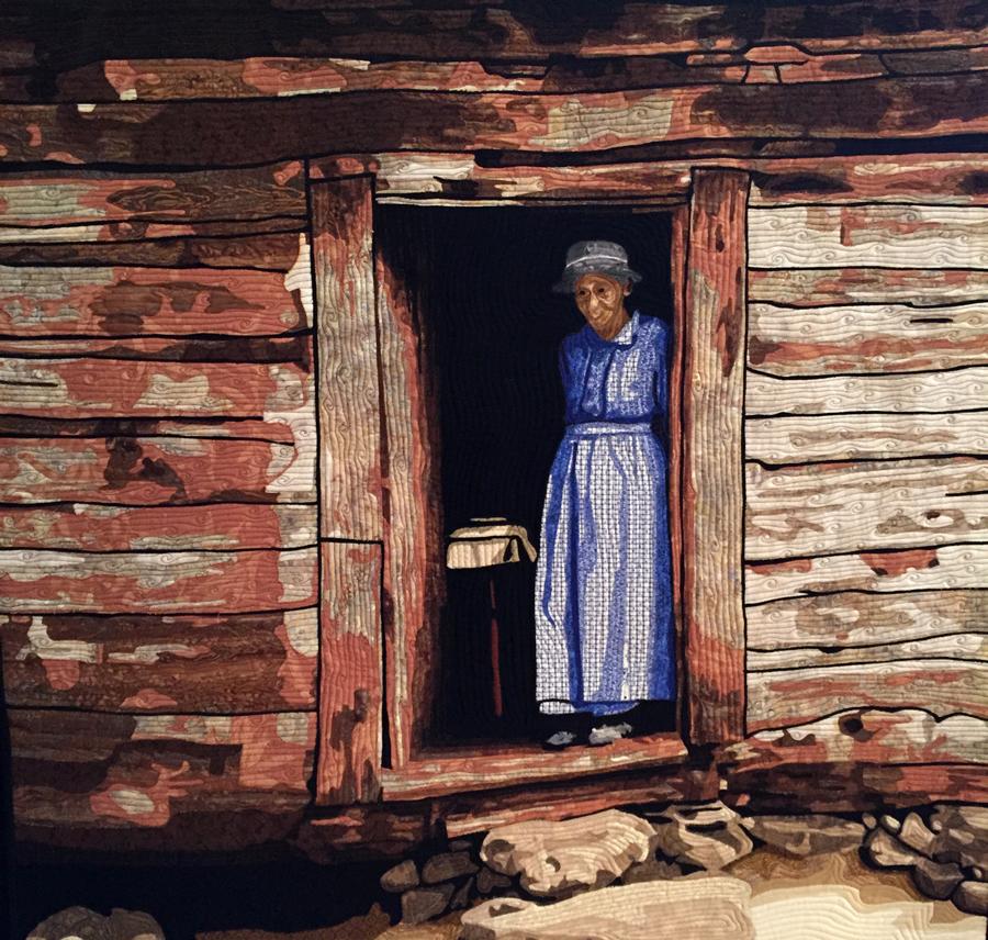 Worn  by  Virginia Greaves  (detail)