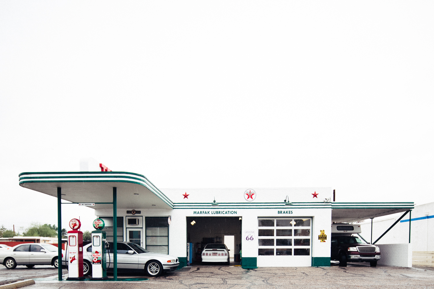 Vintage Texaco gas station in Tucson, Arizona.  Michael Lim Photography 2015 ©