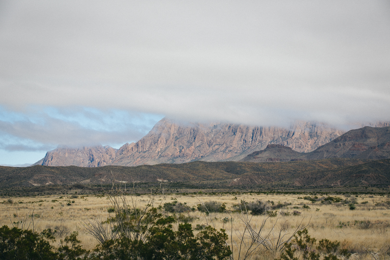 The cold front making it's way through Big Bend National Forest. Michael Lim Photography 2015 ©