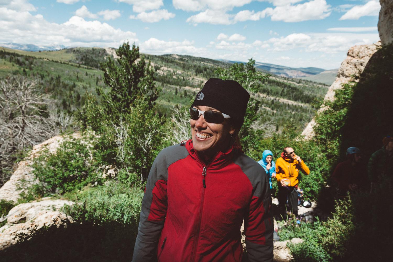 Ms. Lightner Outdoor Research International Climber's Festival