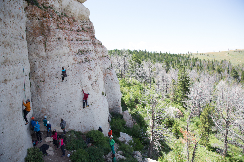 Kevin & Alli's Fall Safe Clinic International Climber's Festival
