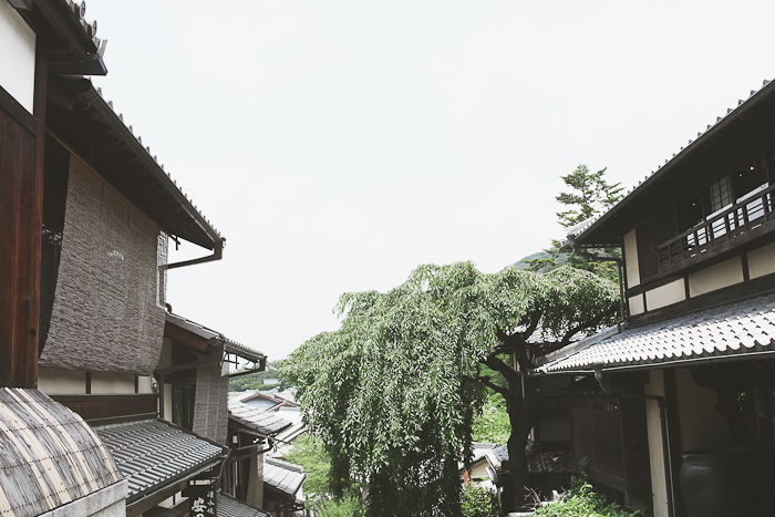 This  rainy day in Kyoto.