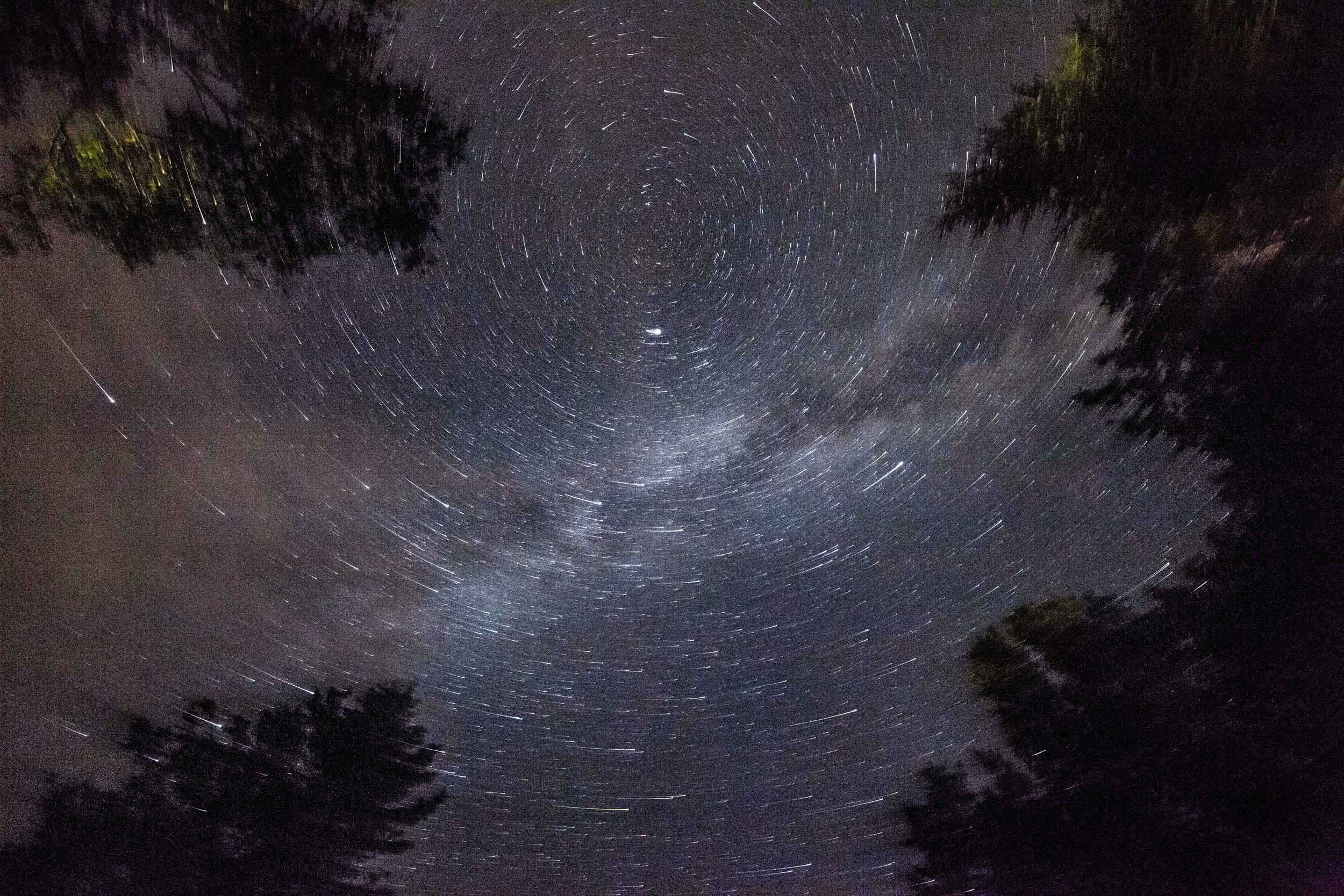 Spinning Milky Way, Pemaquid