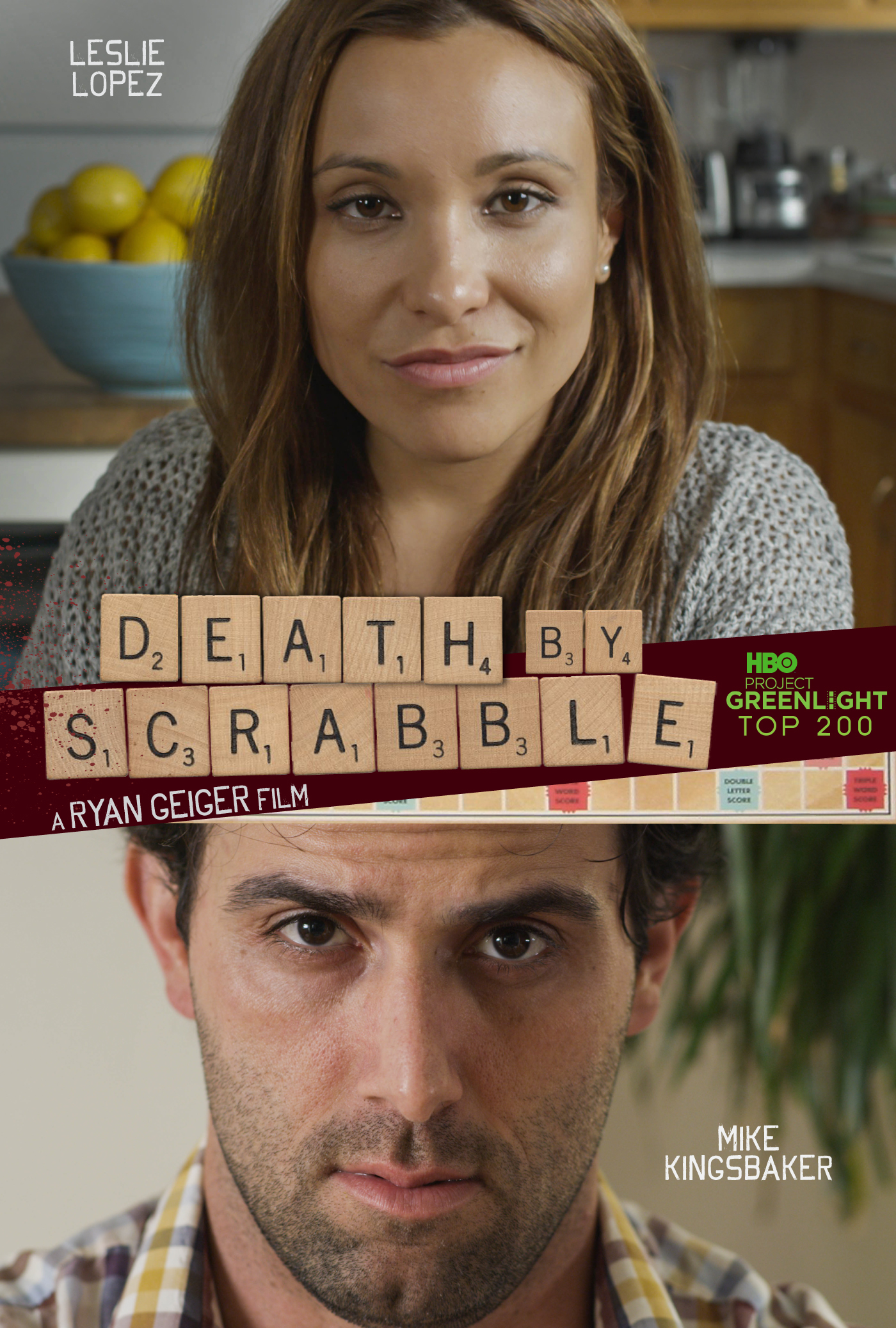 Death By Scrabble poster