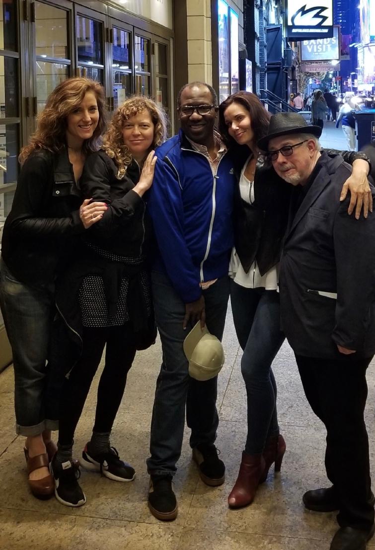 Maggie, Melisa, Florencia & Jack