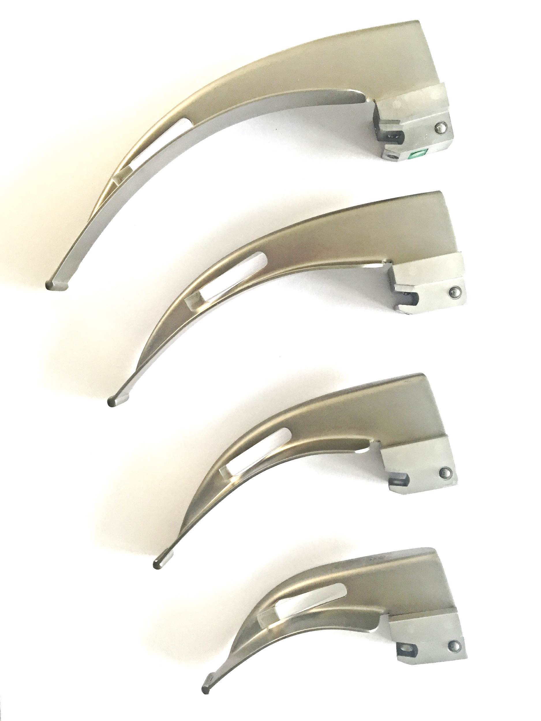 Laryngoscoop bladen MacIntosh size 00, 0, 1, 2, 3 en 4