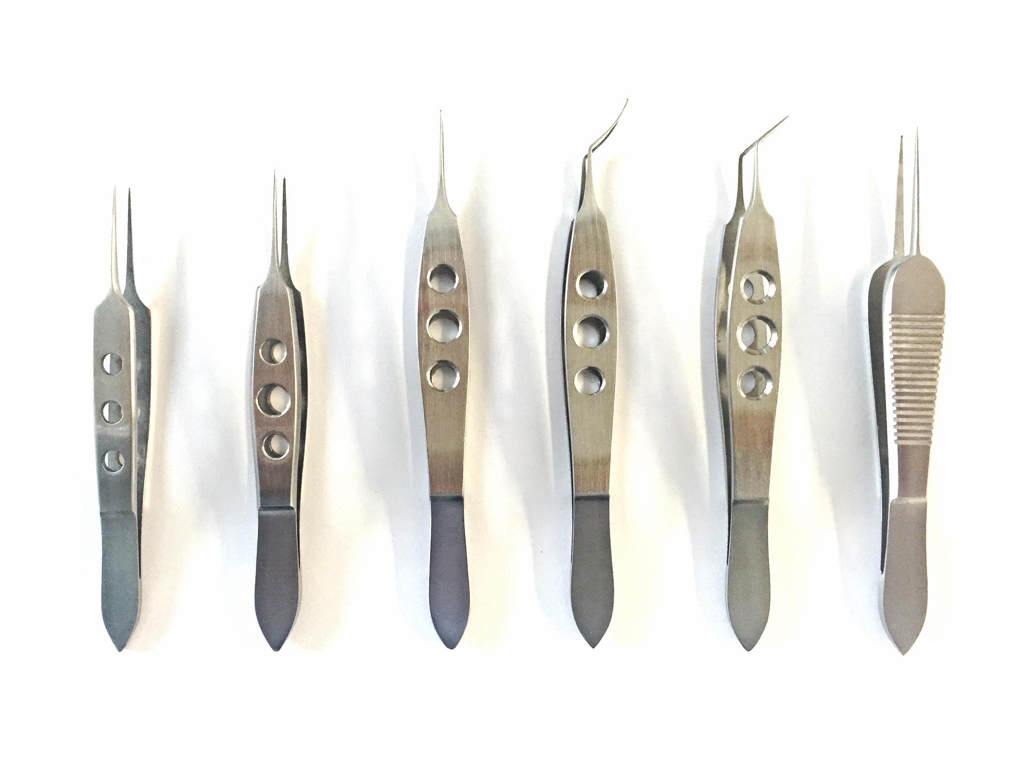 Diverse micro chirurgische pincetten