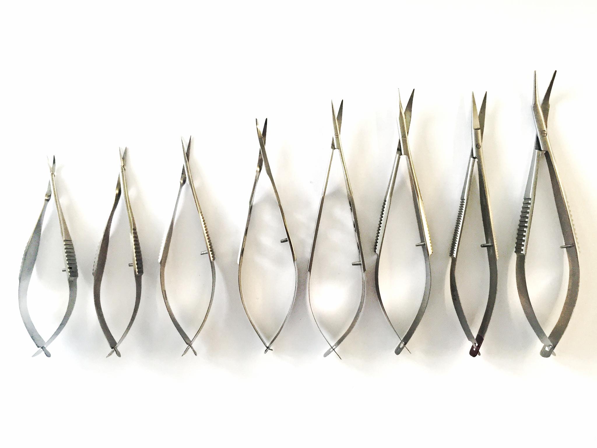 Diverse micro chirurgische scharen