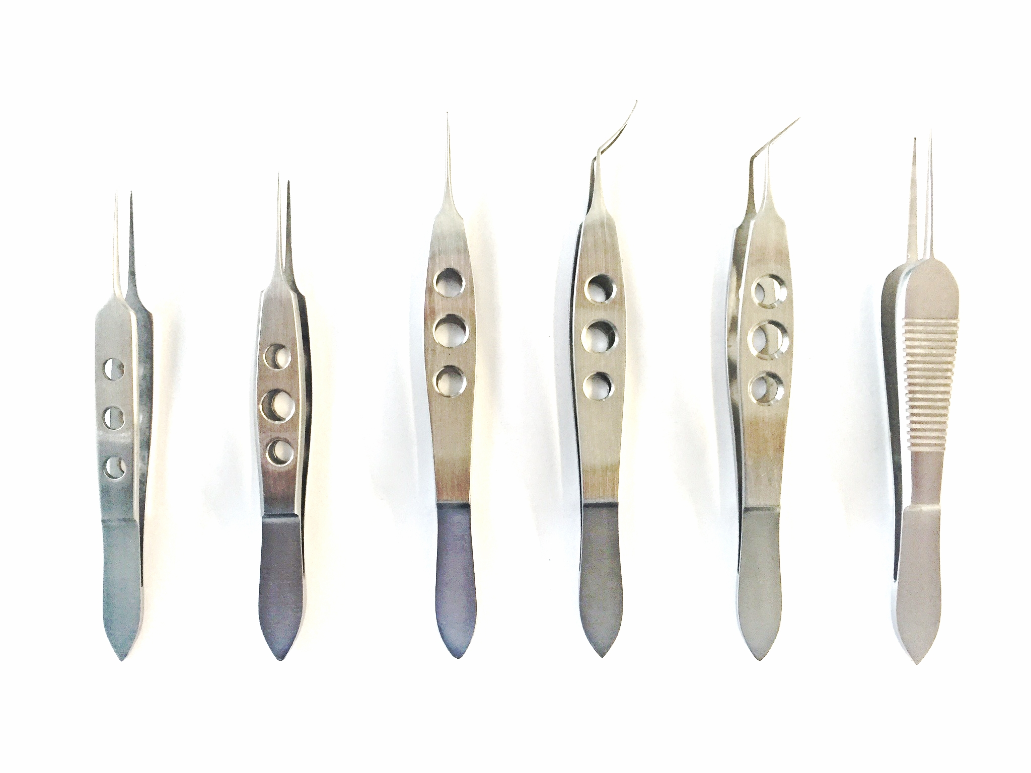 Diverse disposable micro chirurgische pincetten