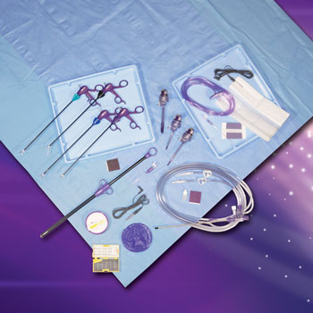 Liber Medical customized disposable laparoscopic procedure trays