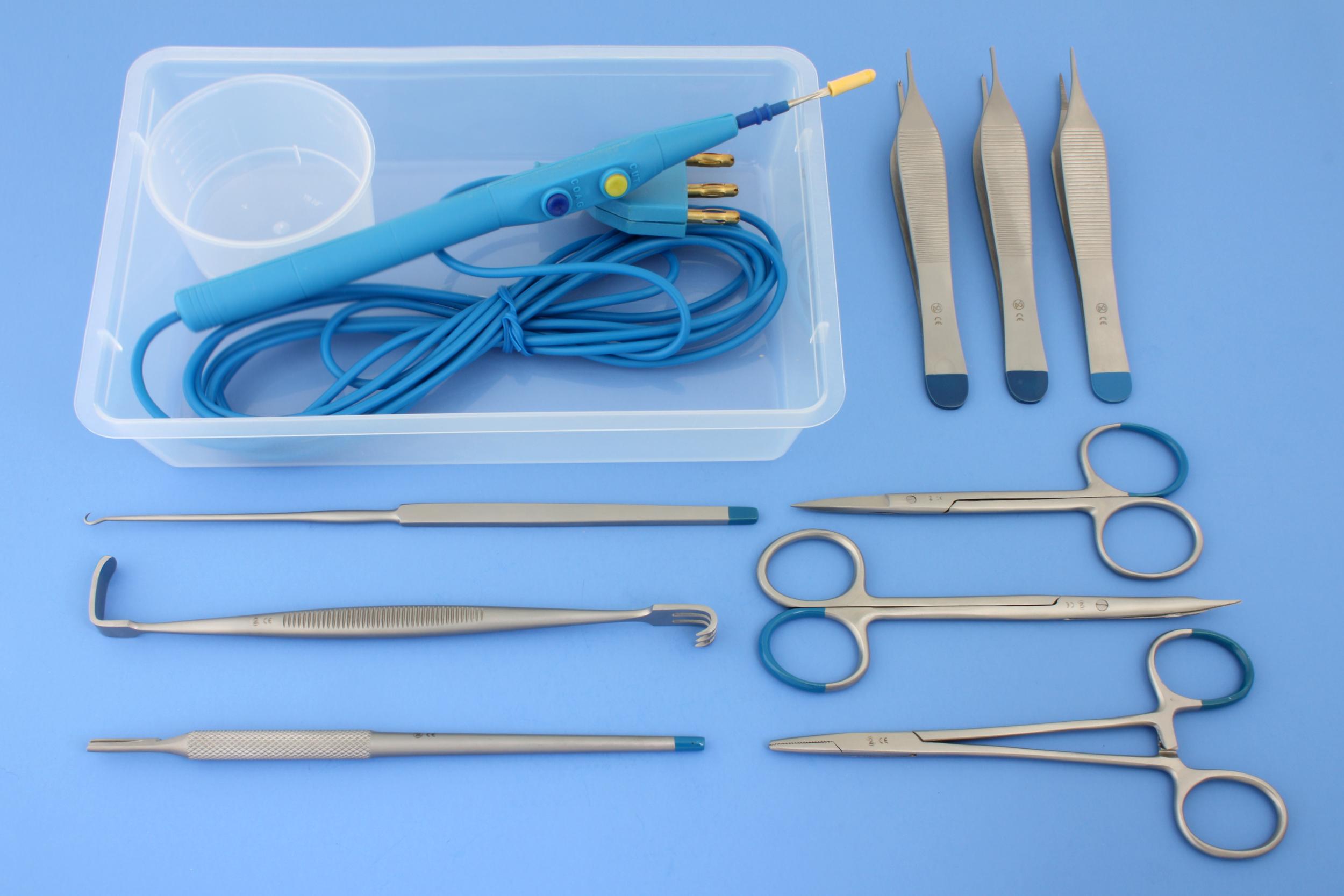 Custom sets voor plastische chirurgie