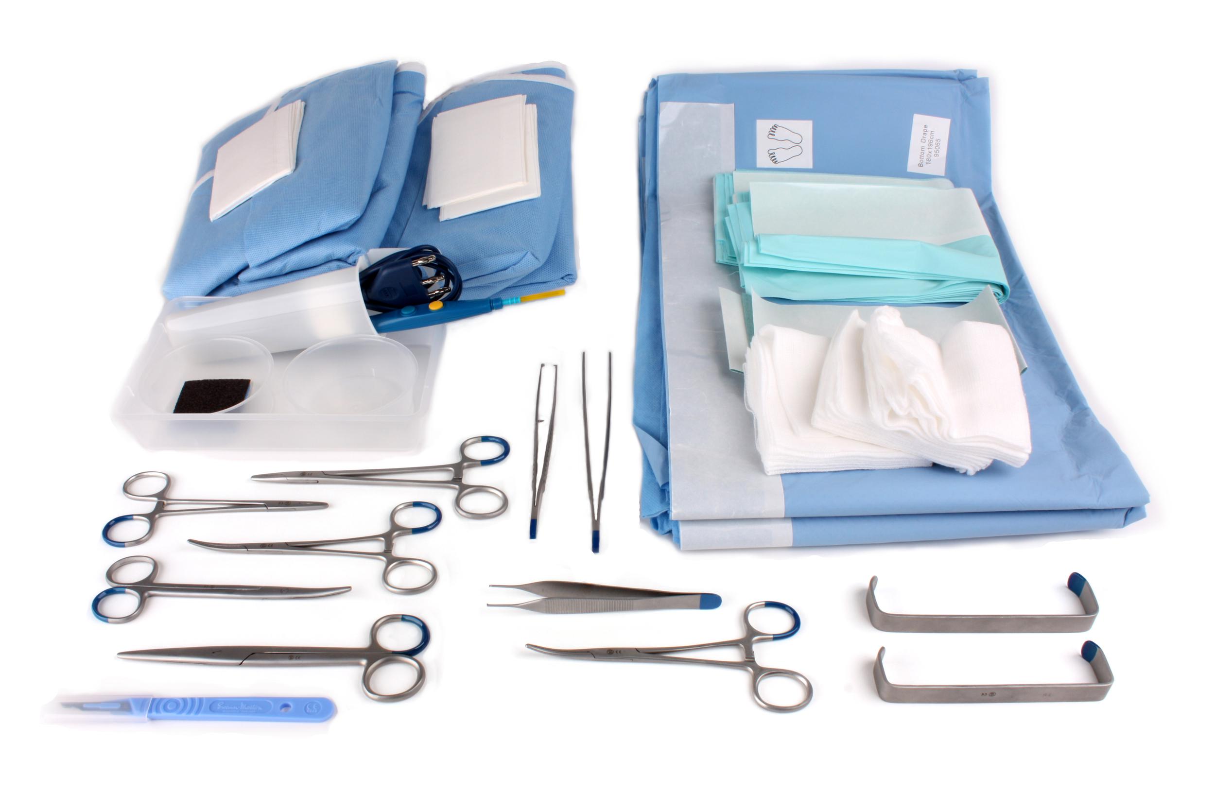 Custom procedure trays voor cosmetische- en esthetische chirurgie