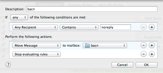 If Any recipient has noreply, it's bacn!
