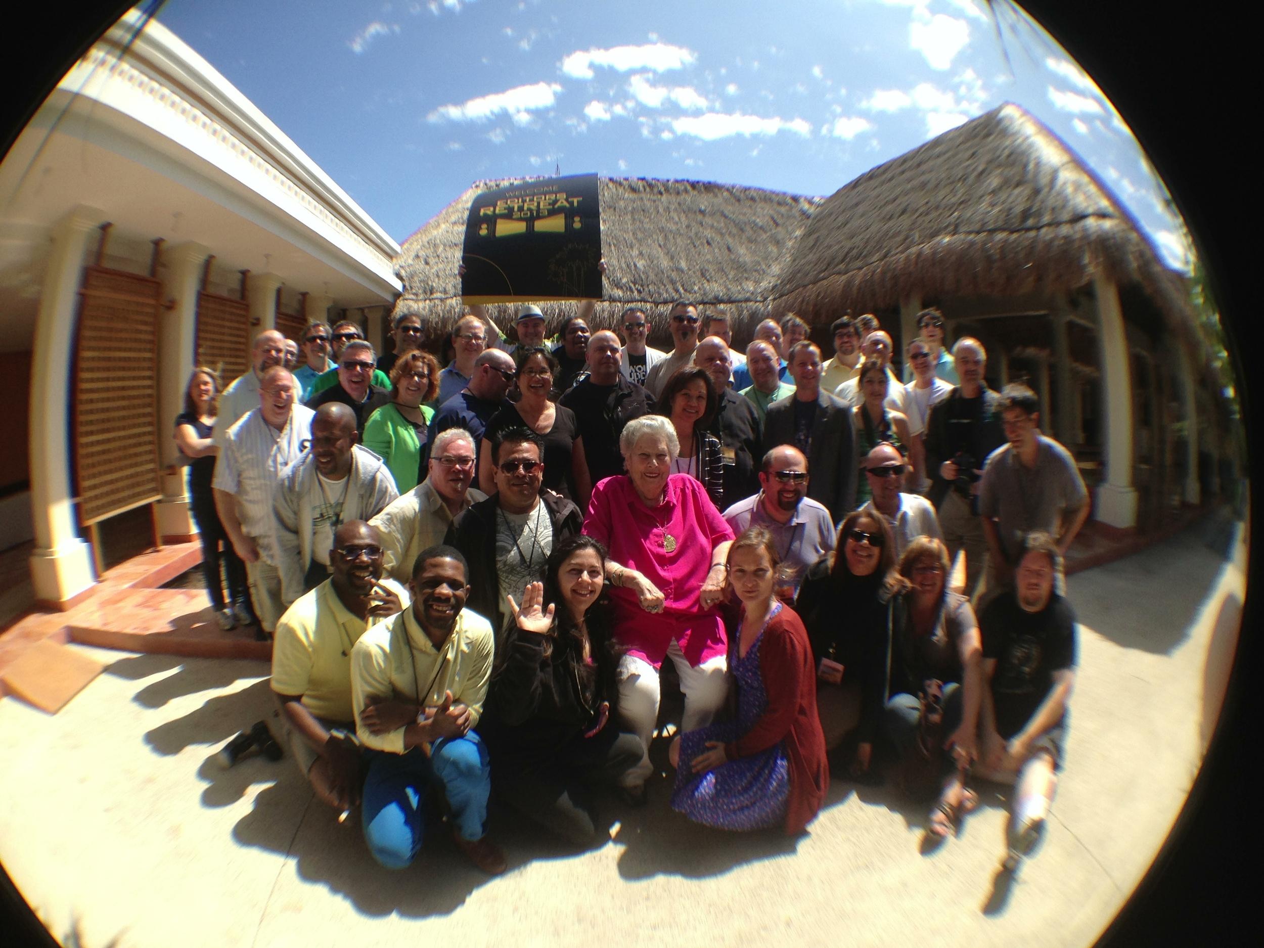 The Editor's Retreat Group Photo 2013