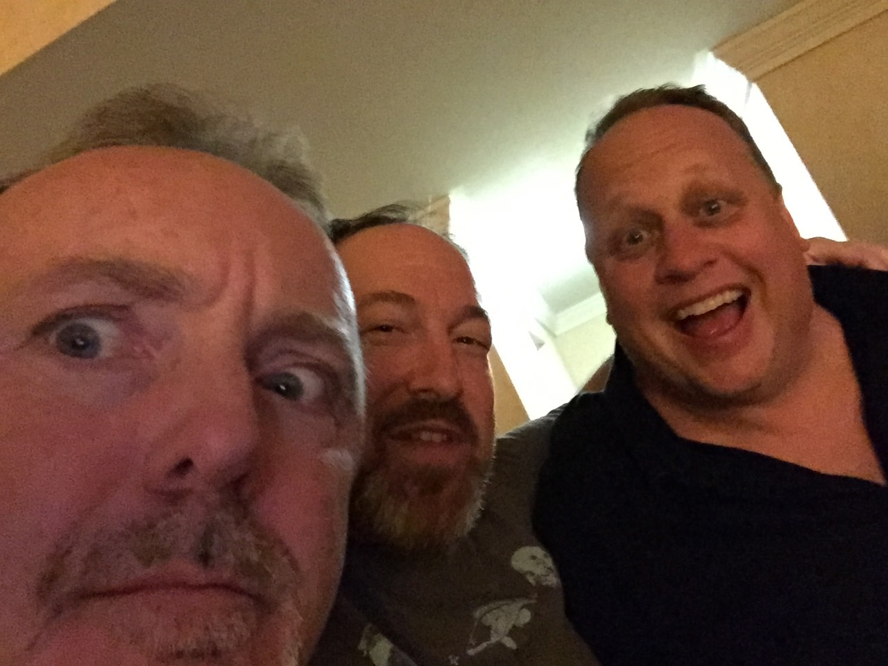 Doug Blush, myself and Steve Julin