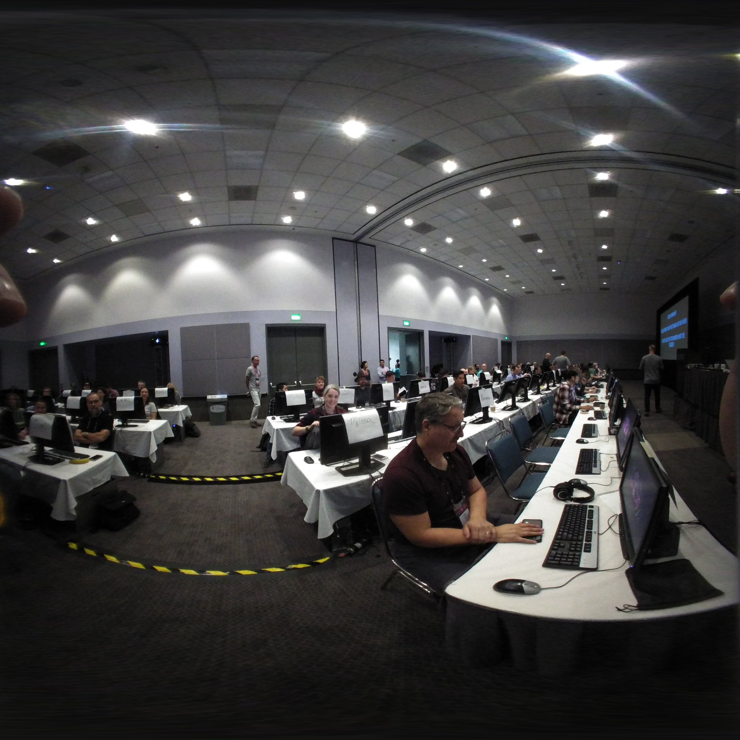 Only Adobe would do a 100 person hands on workshop! (Thanks to the TA's in a BIG WAY!