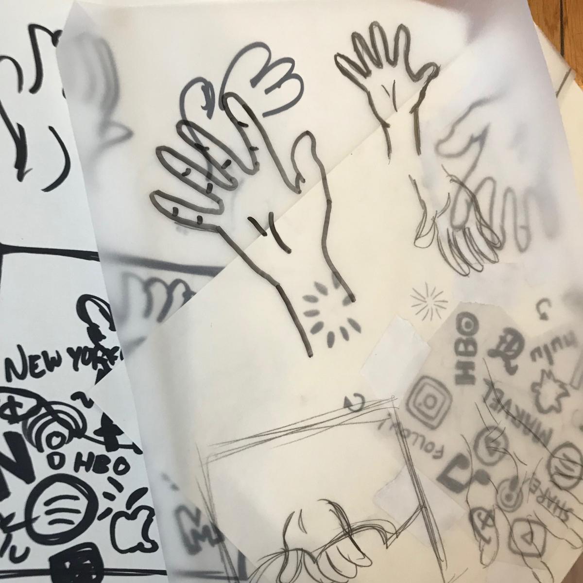 Sketches, sketches, sketches!