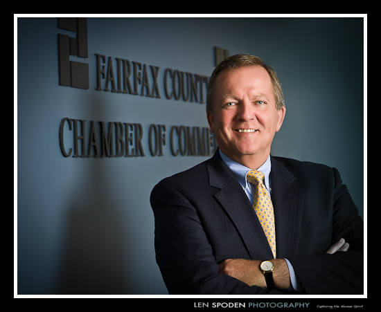 Fairfax Vienna Reston Tysons Corner McLean Executive Portrait Photographer