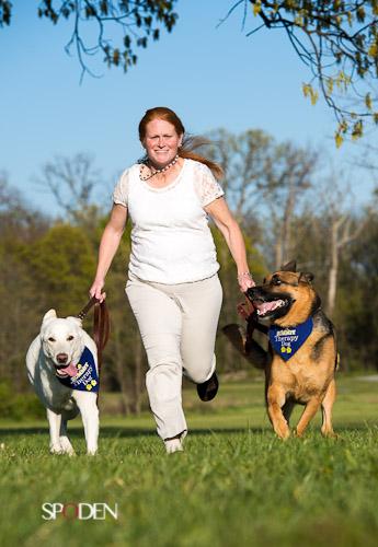 Herndon VA Woman and dog photographer
