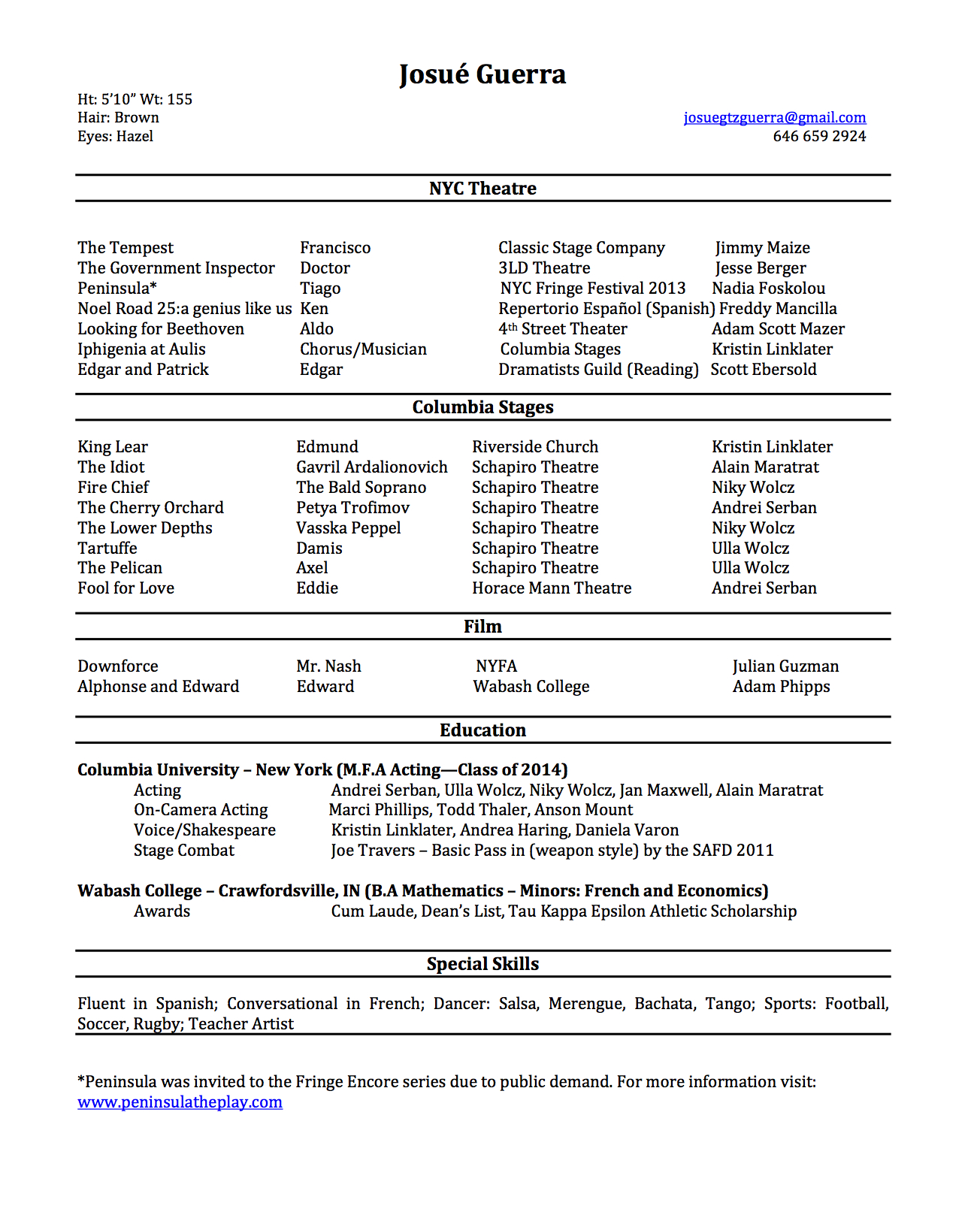 Click this image for the .pdf resume.