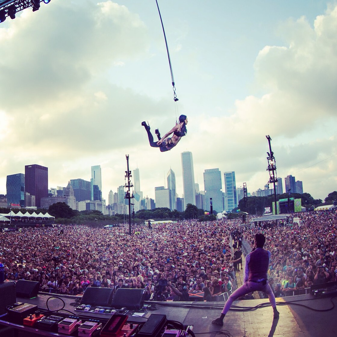 Lollapalooza Chicago with Janes Addiction