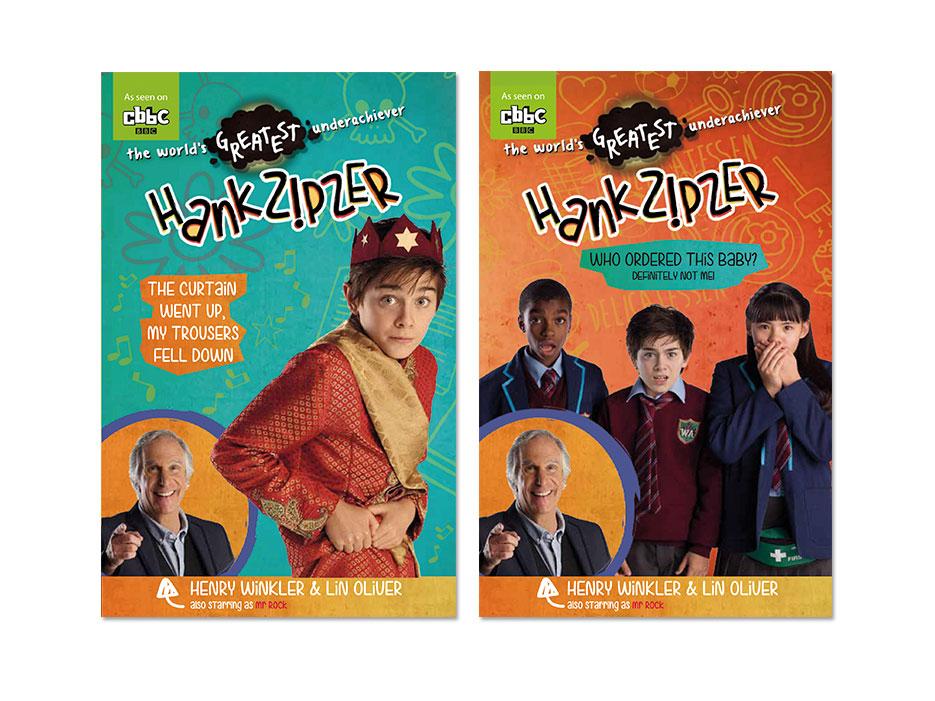 Hank Zipzer YA novels -