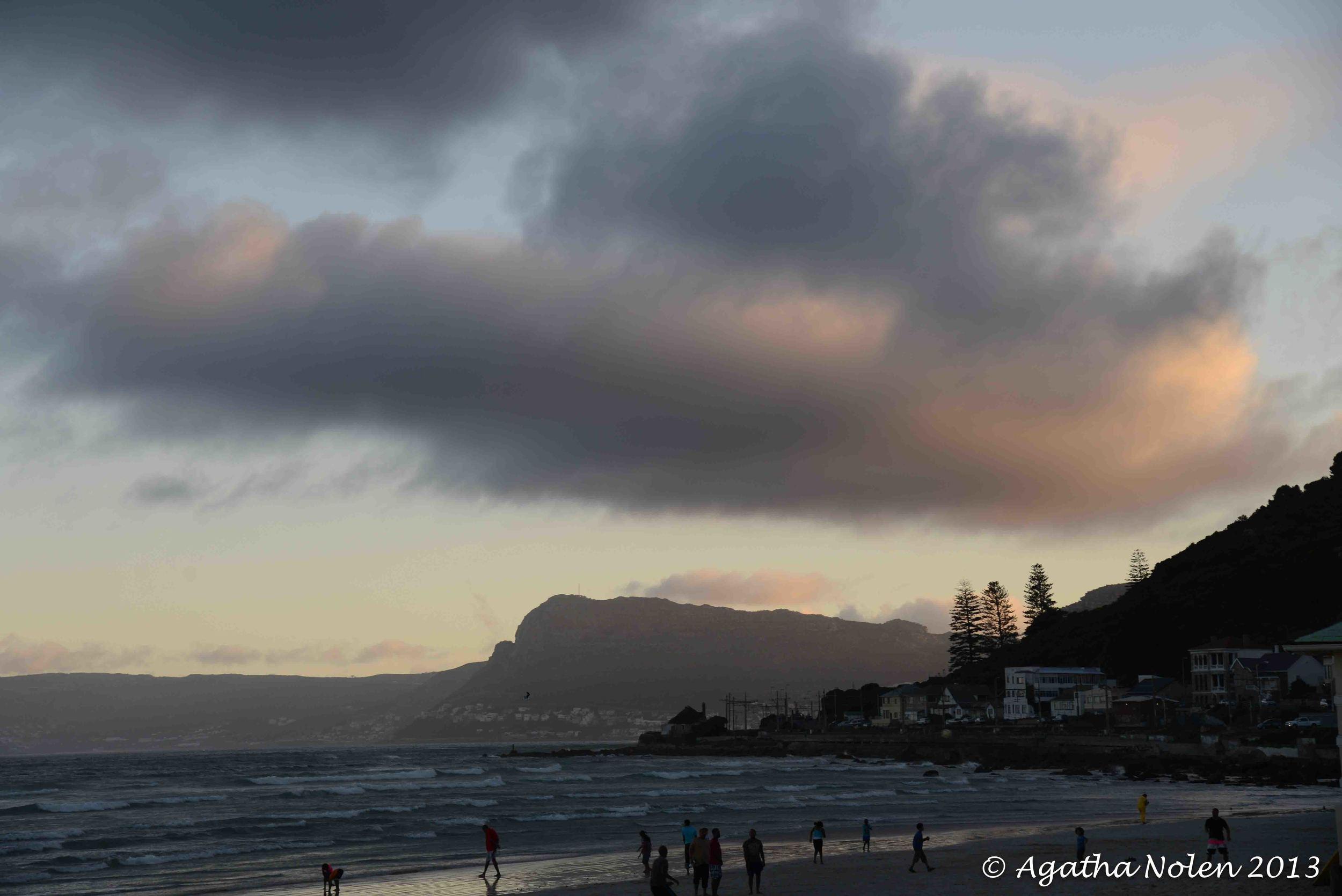 Muizenberg Beach sunset, South Africa
