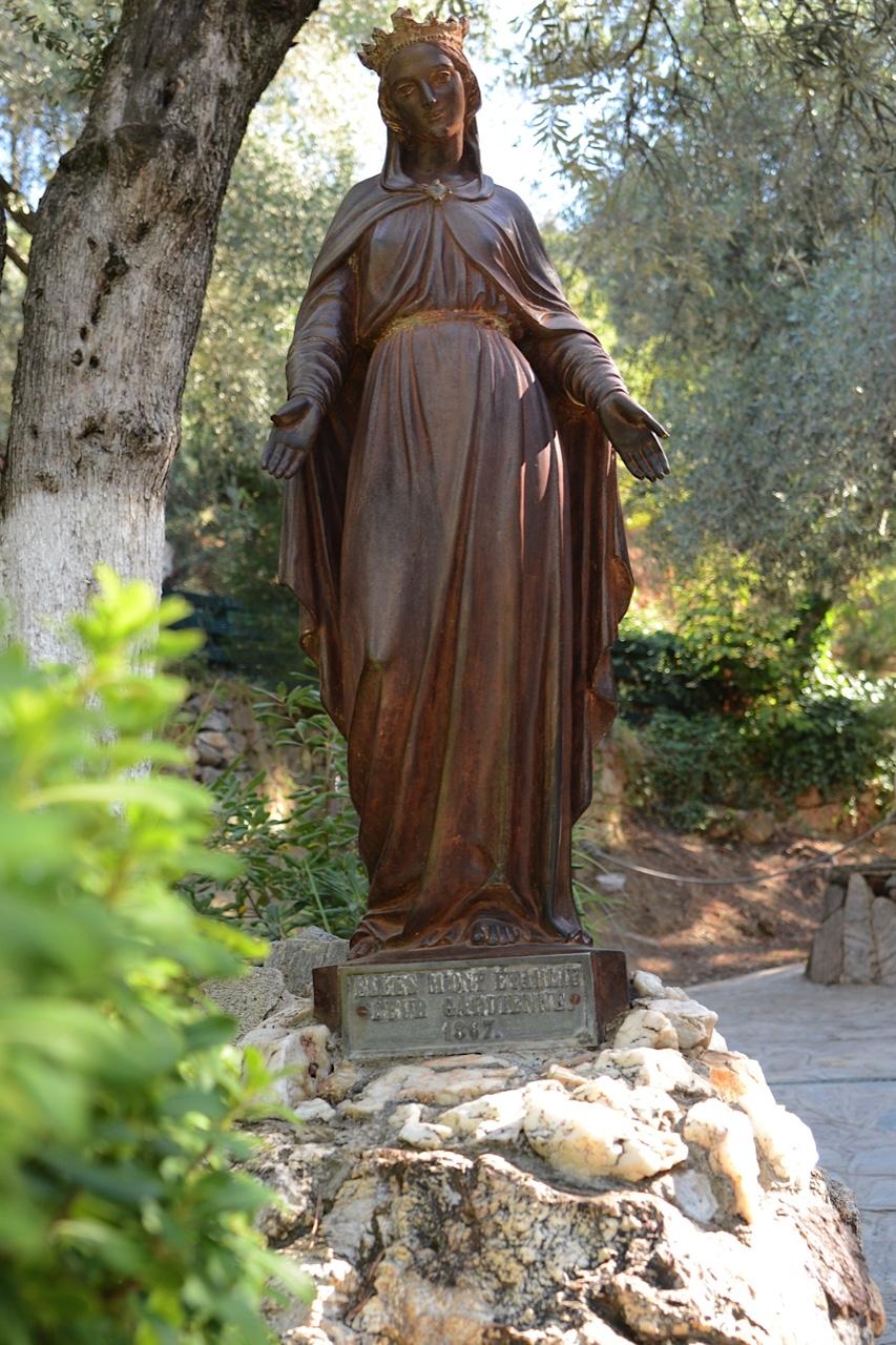 Statue, House of Mary, Ephesus