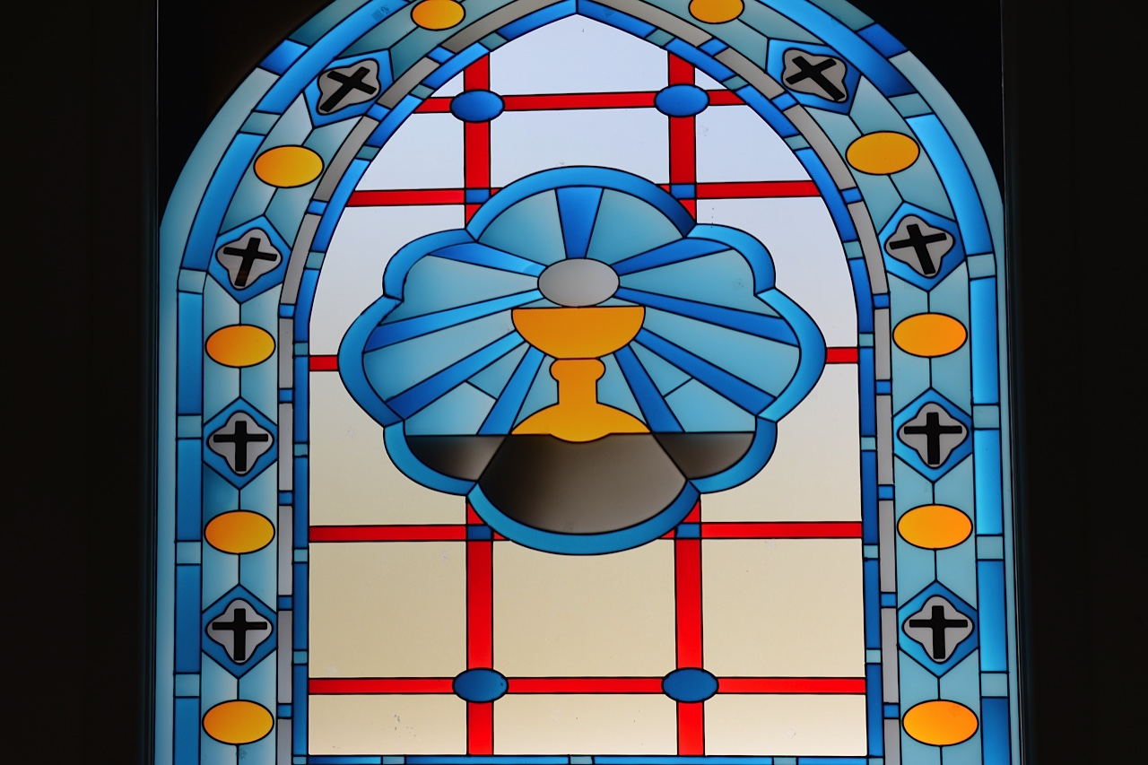 Stained Glass, House of Mary, Ephesus