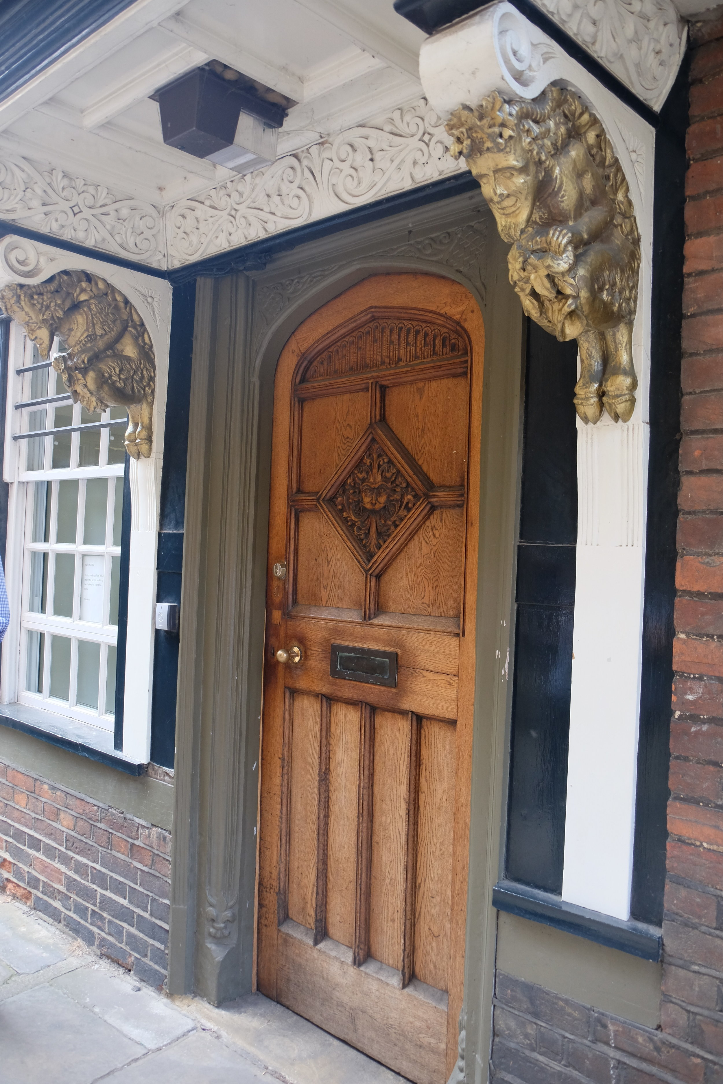 The entrance to Narnia, Oxford, England (C.S. Lewis)