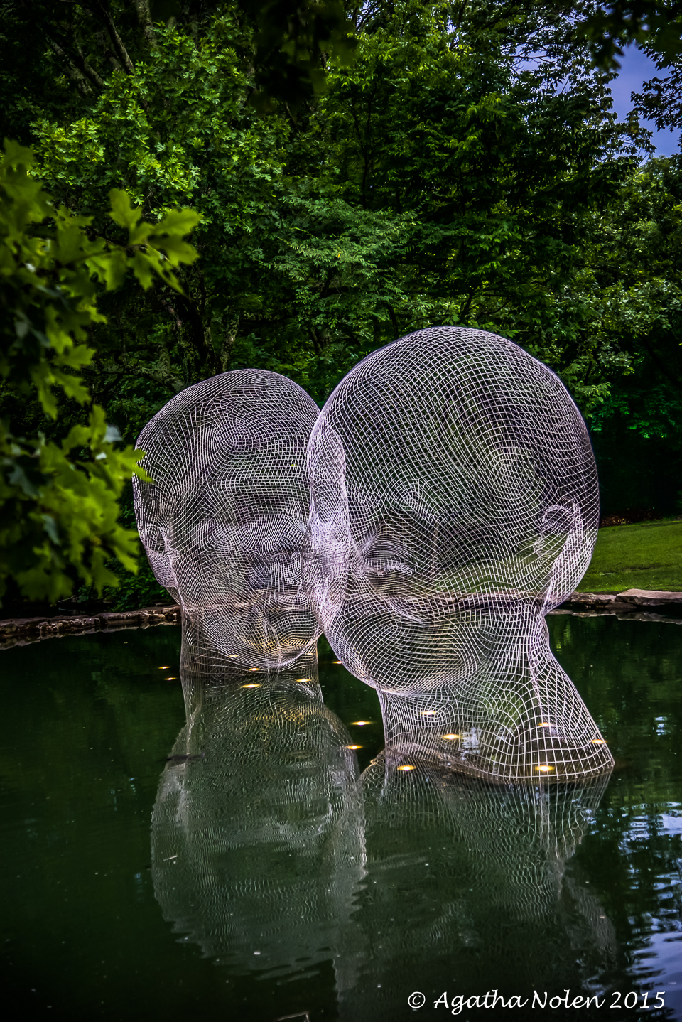 Awilda and Irma, Jaume Plensa, Cheekwood 2015