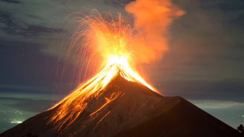 A file photo of the Volcano of Fire in Guatemala (Fuego), which is one of Central America's most active volcanoes. (Shutterstock/fboudrias)