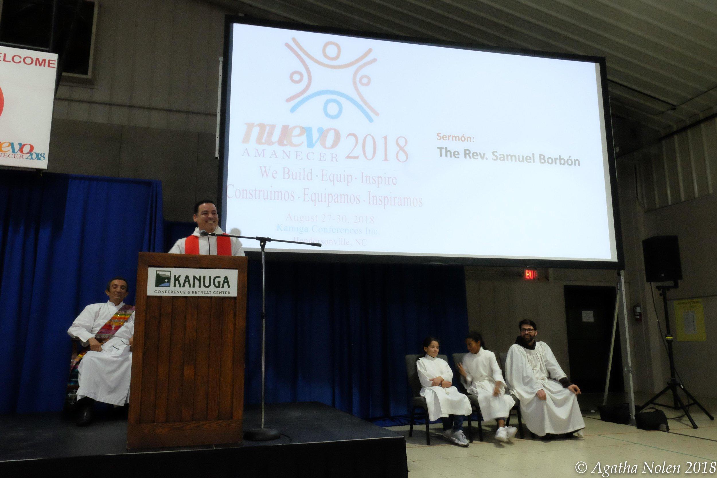 Nuevo Amanacer 2018, Opening Eucharist, Kanuga Retreat Center, NC