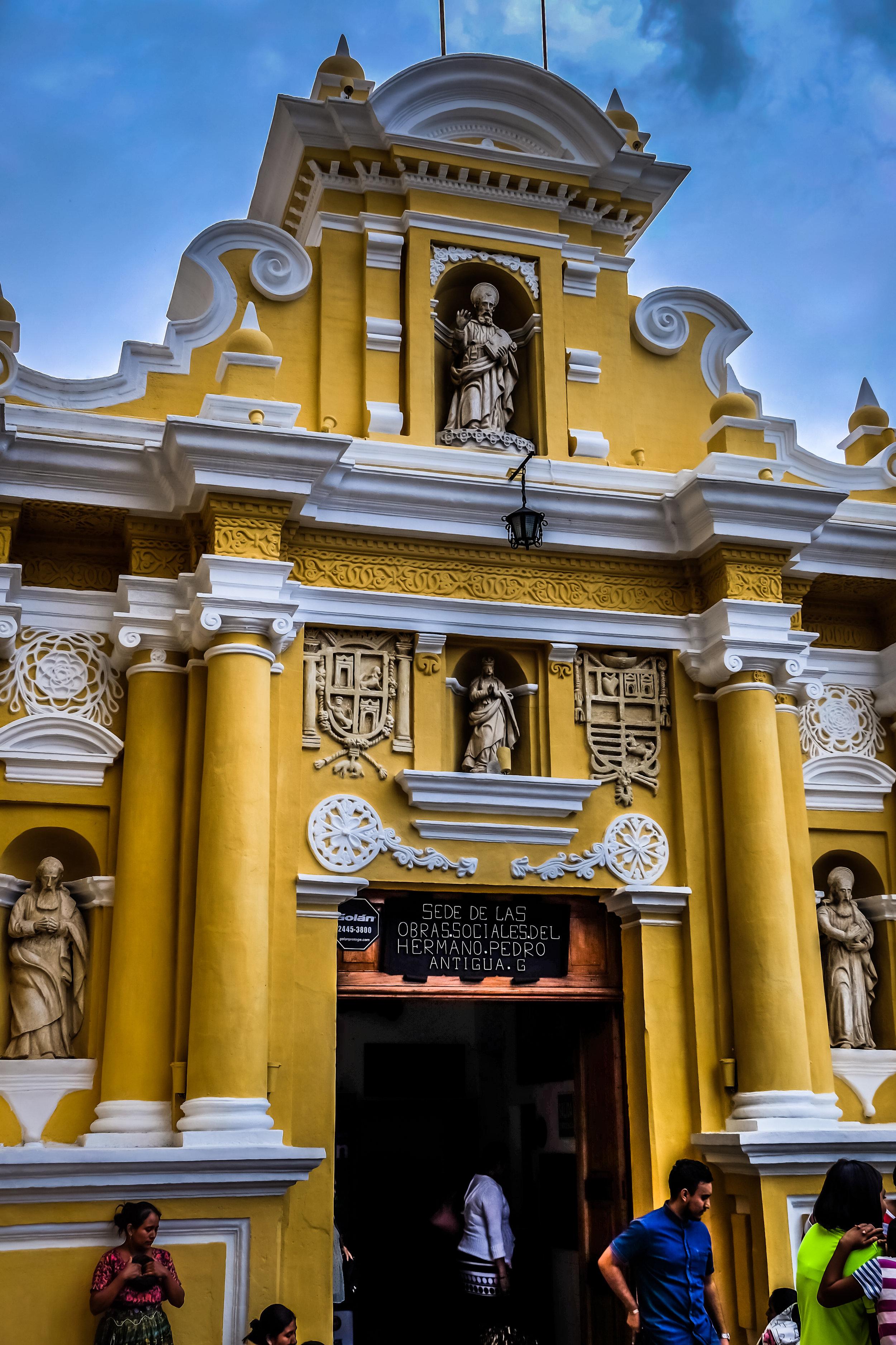 Iglesia de San Pedro, Antigua, Guatemala