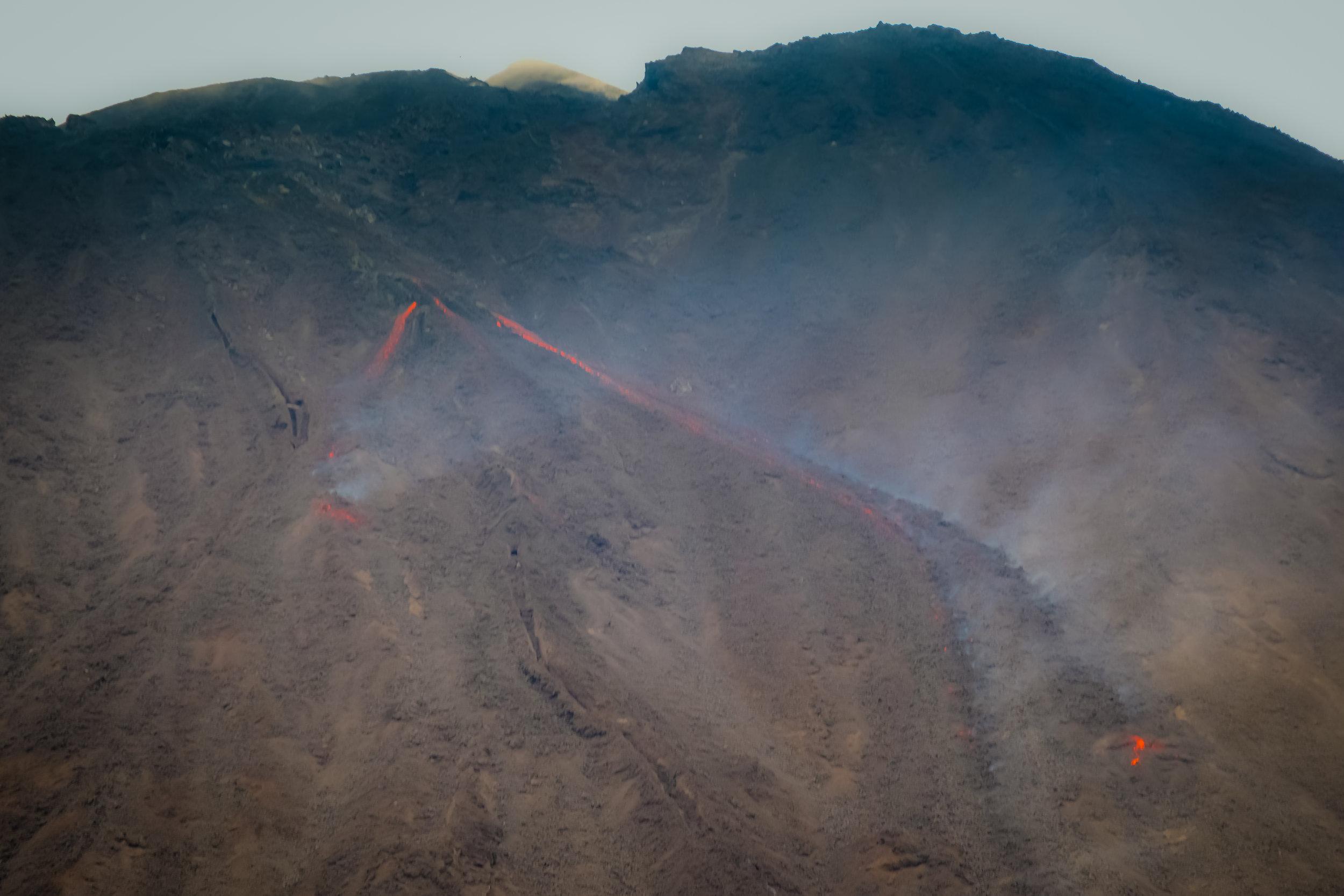 Eruption, Vulcán de Pacaya, Guatemala