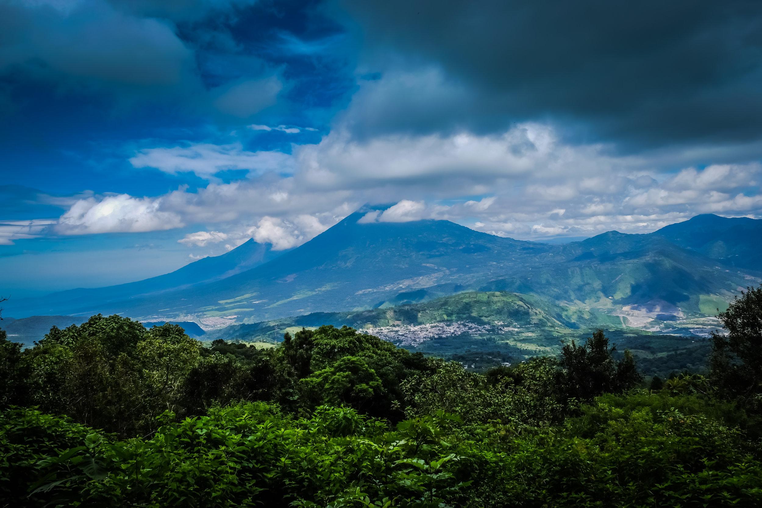 Vulcanes de Fuego y de Acatenango, Guatemala