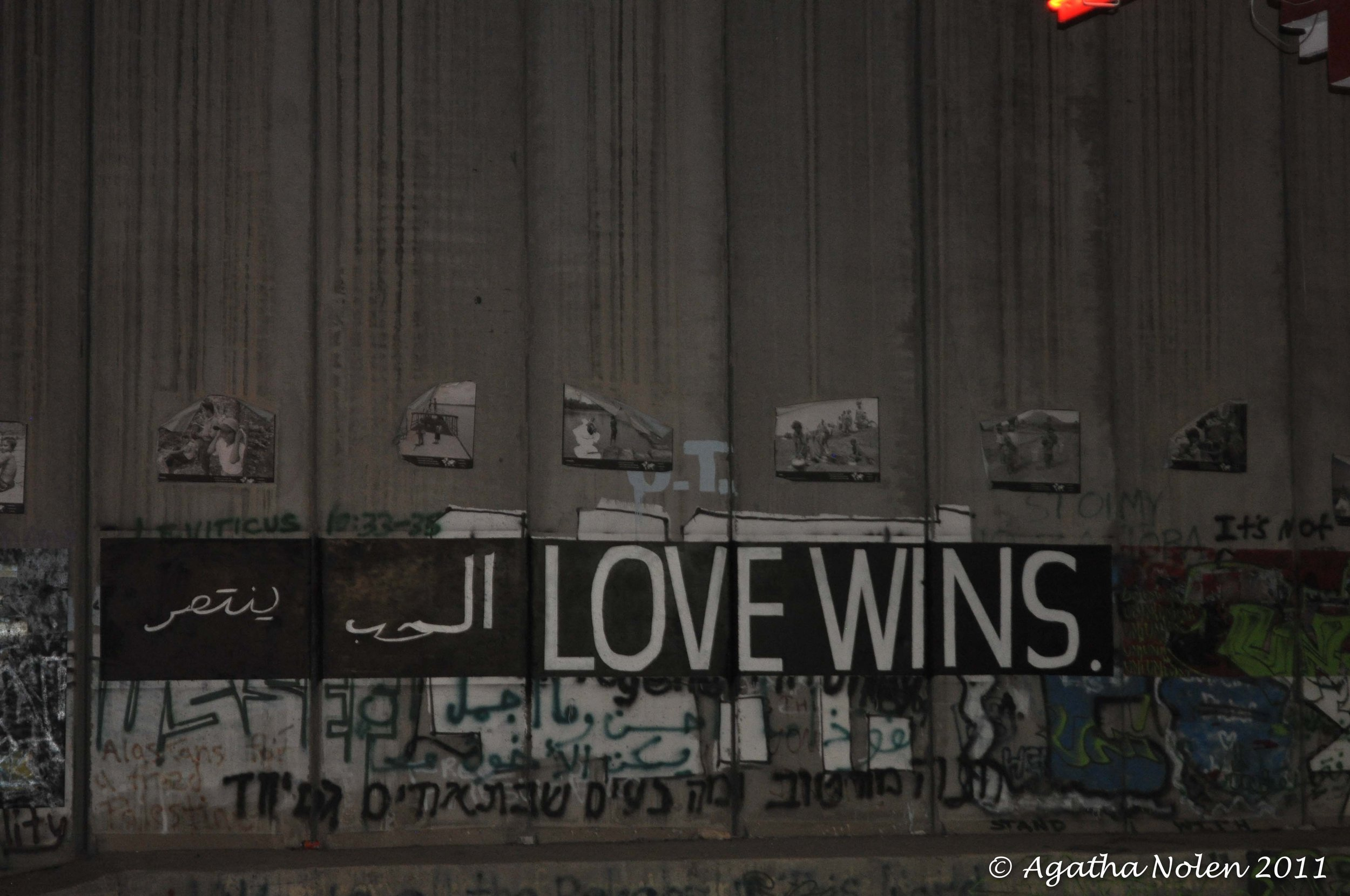 Separation Wall, Kando Store #7, Israel, 2011