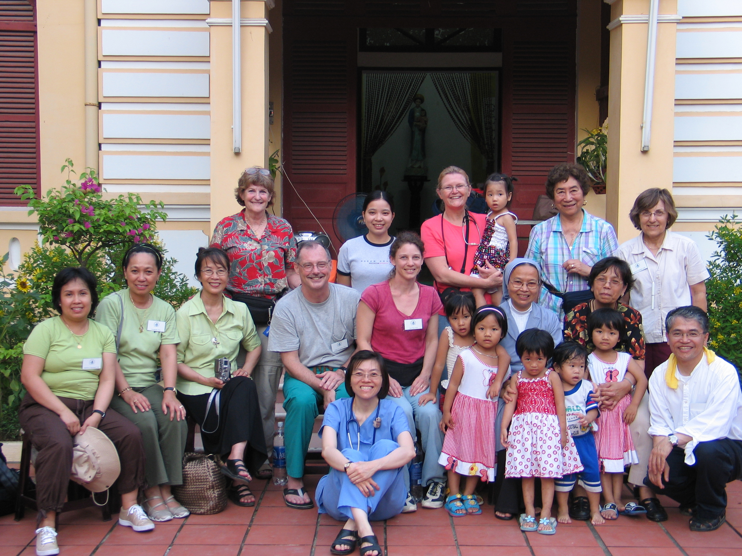 Our work at the orphanage is complete.