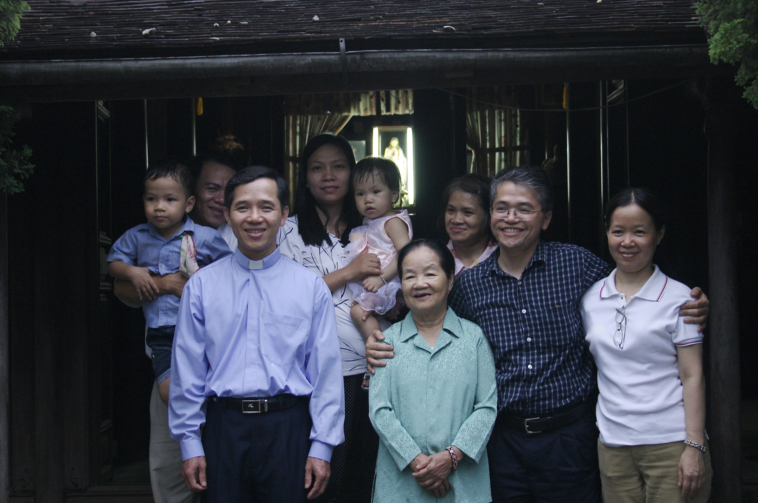 Fr. Francis and family, generous beyond measure.