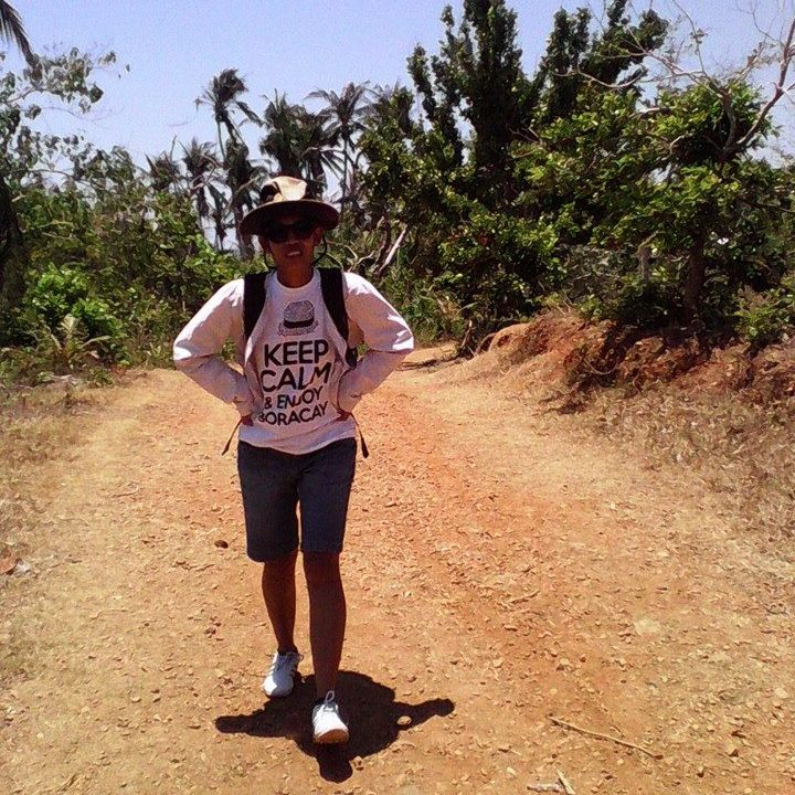 Nikki walks village to village on the island of Batalban looking for children with cleft palates.