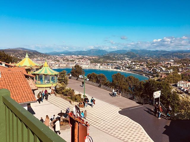 Hello vacation. Hello San Sebastián. You are more beautiful in person.