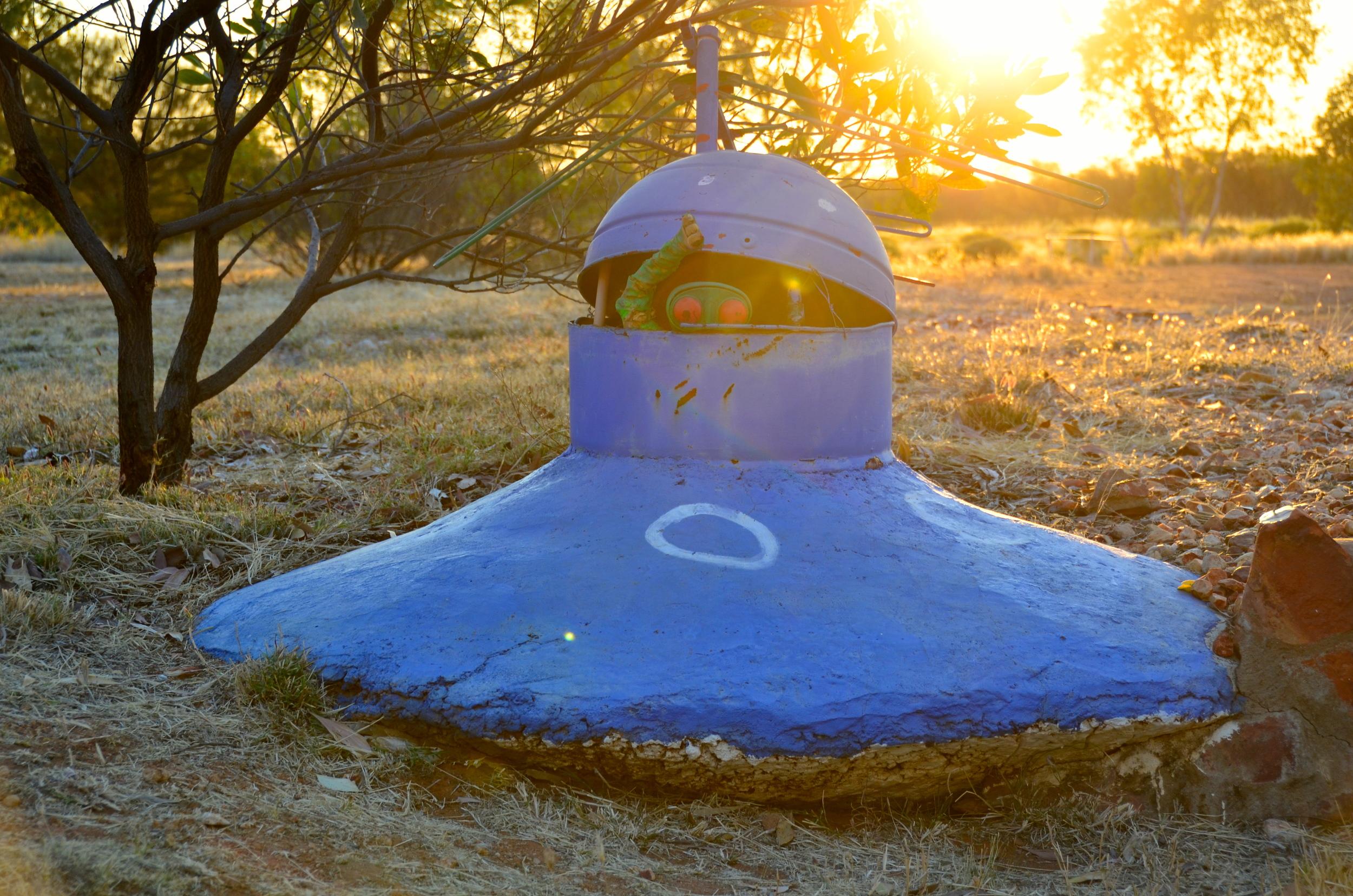 Wycliffe Well - UFO Capital of Australia