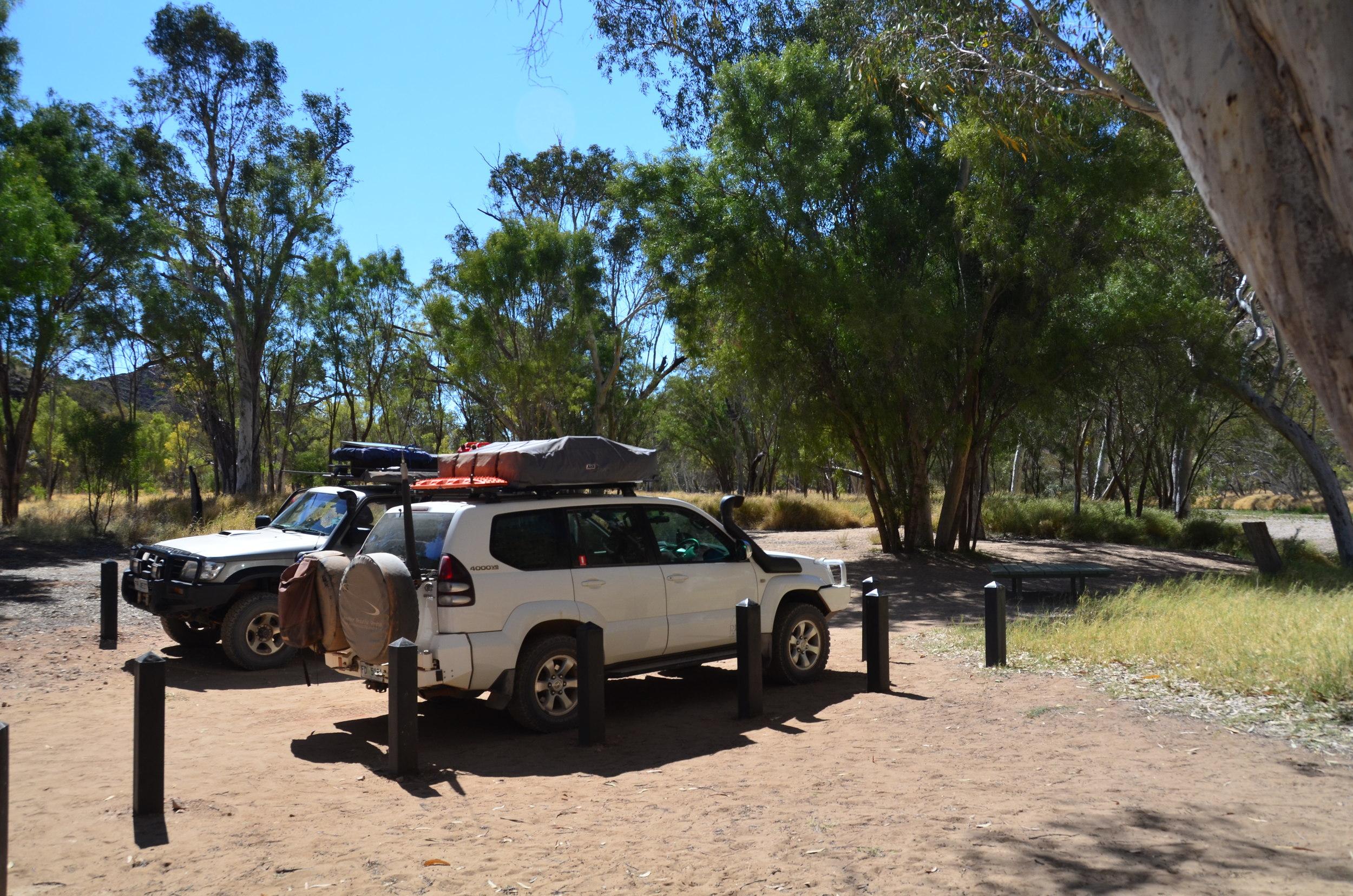 Bluff Campground - Trephina Gorge NP.