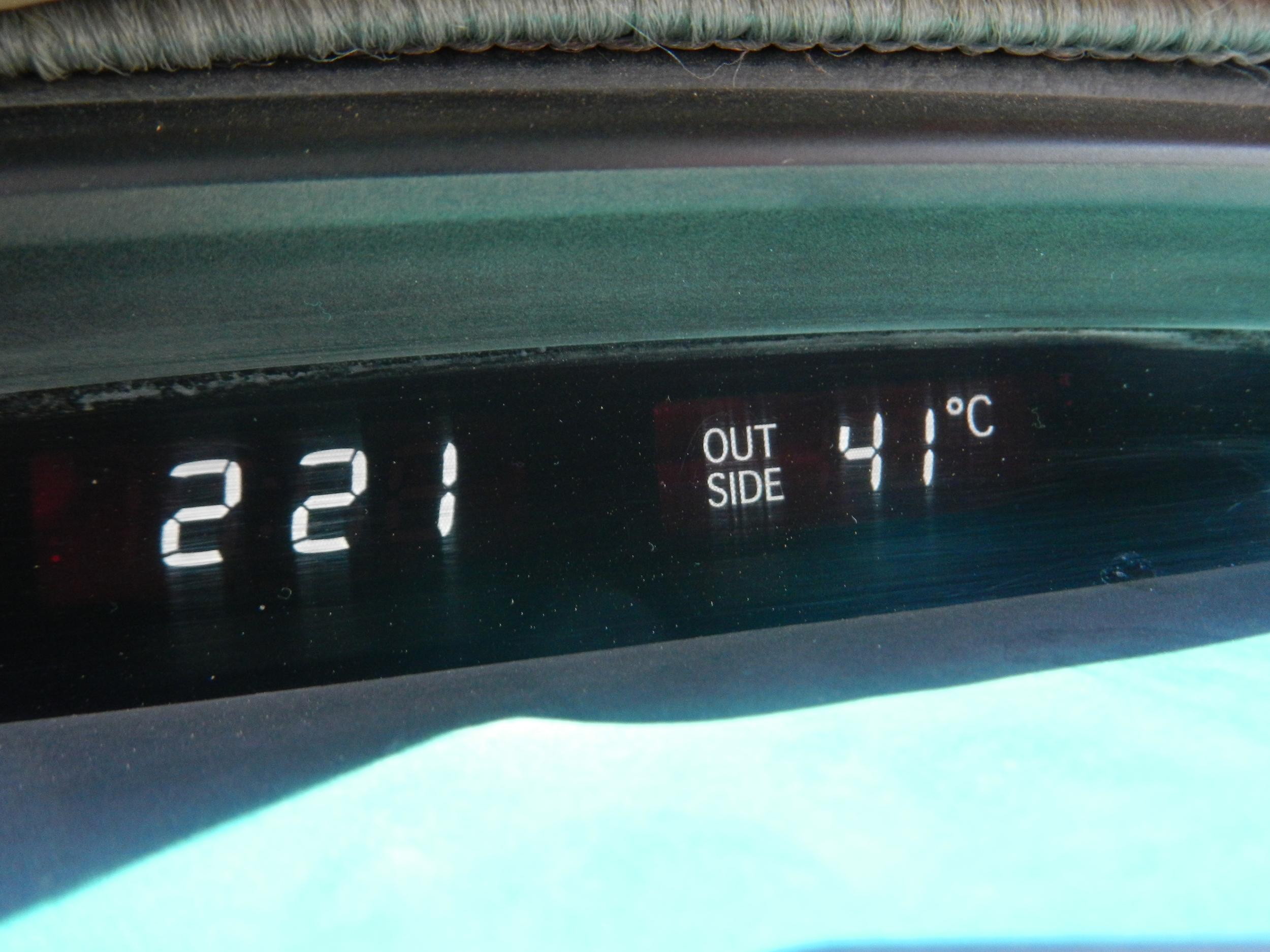 41 degrees!