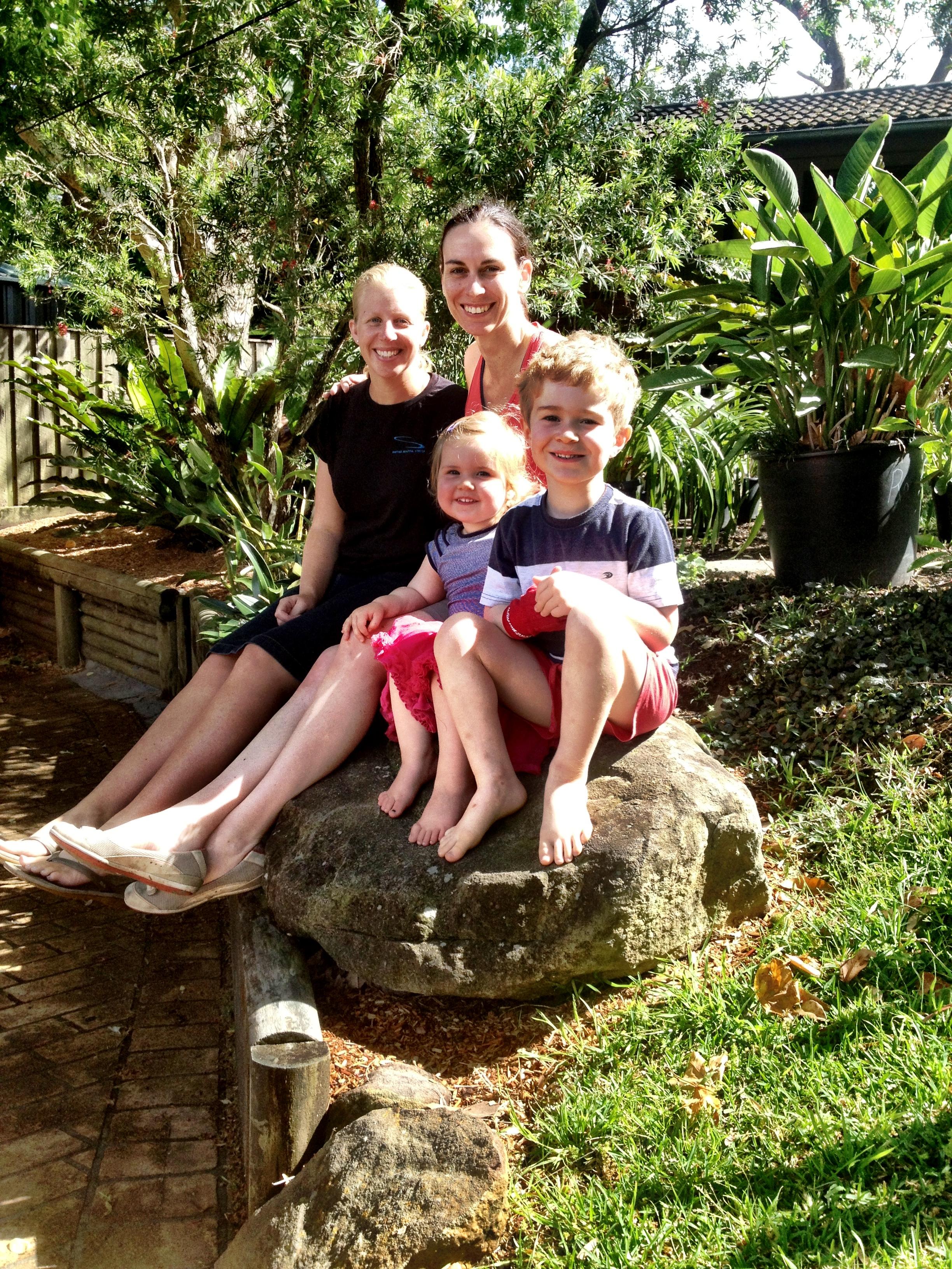 Jaks, Lou, Anna & Rohan