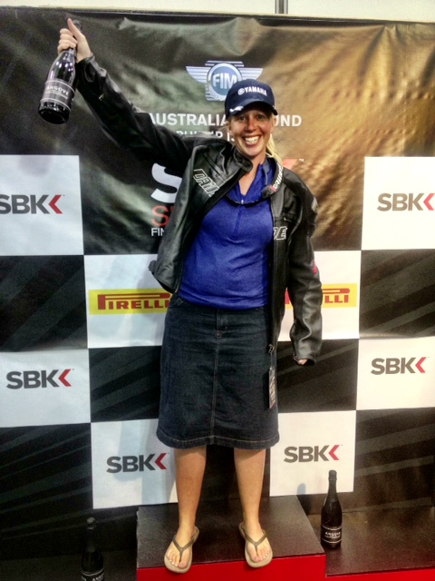 Jaks - Superbike champion!