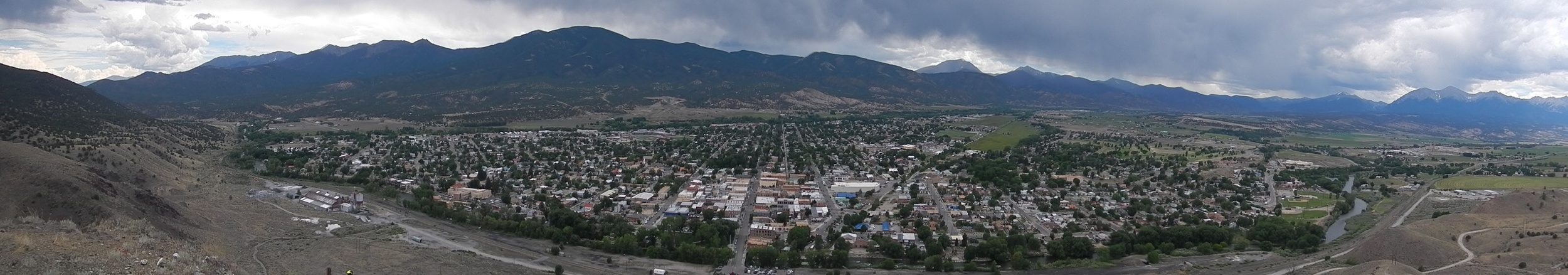 The view of Salida.