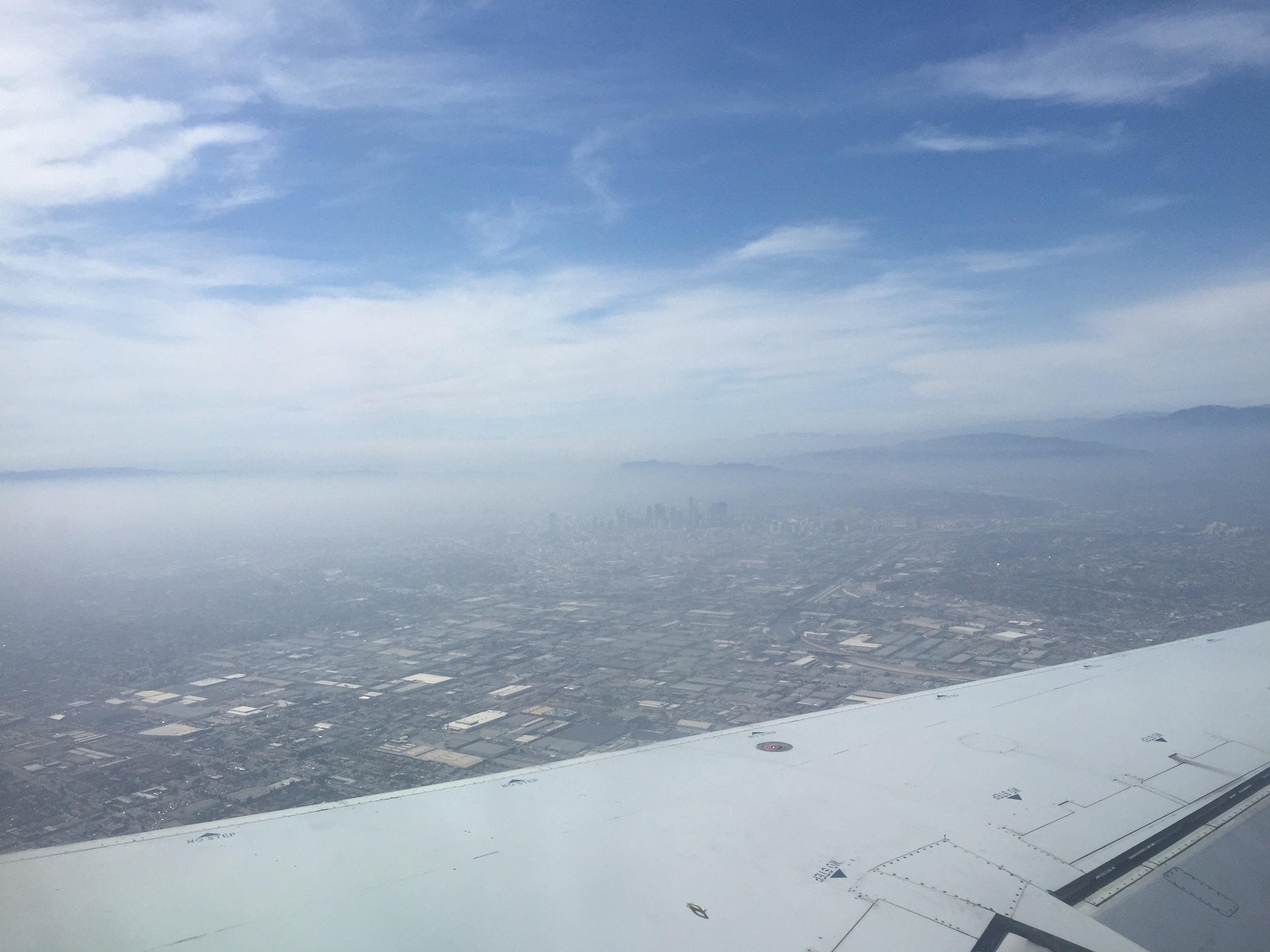 What smog? L.A.