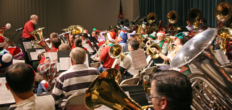 Tuba Christmas.Merry Tubachristmas Los Angeles