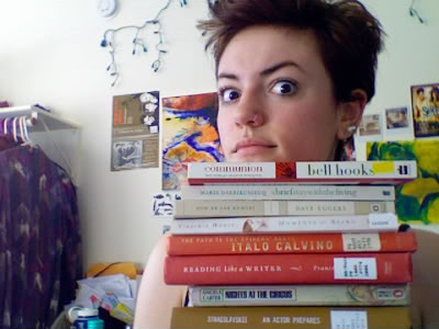deranged writing face, circa 2010